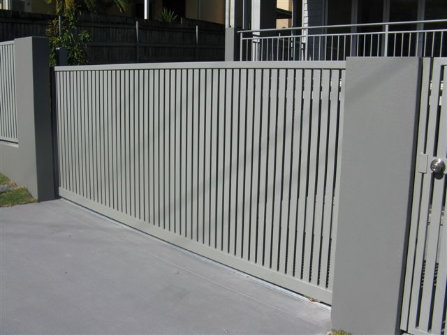 Metal Gate Slat Black Google Search Front Gates