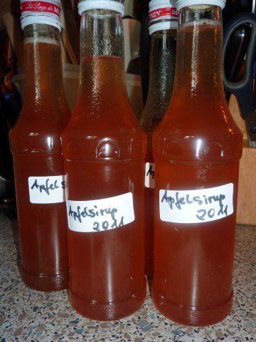 Getrank Apfelsirup Rezept Mit Bild Rezept Apfelsirup Sirup Kochen Apfel