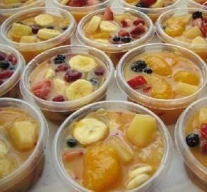 """Frozen Fruit Cups: """"Really delish, and really nice to have in the freezer to throw in a lunch."""" -CheapThrills"""