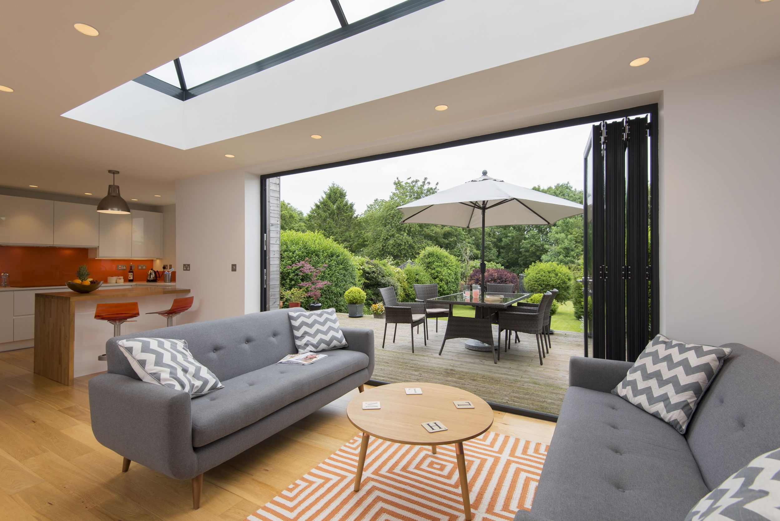 Outroom With Images Bifold Doors Bi Folding Doors Kitchen Building A House