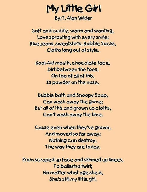 Poem for my daughter on her birthday
