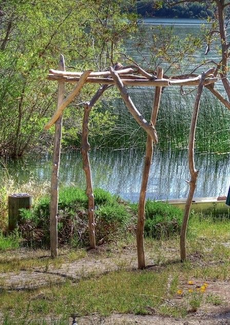 How to Build a Driftwood Arbor! | Driftwood Wedding Arbors | Wedding