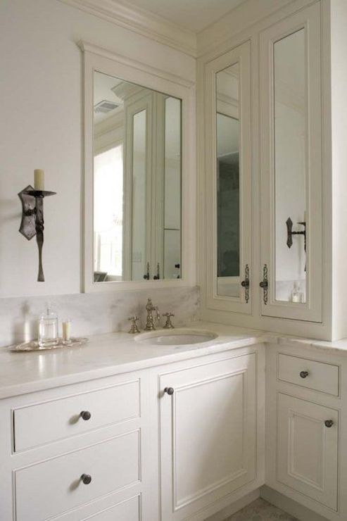 L Shaped Bathroom Vanity Cabinets Sink Vanity L Shaped