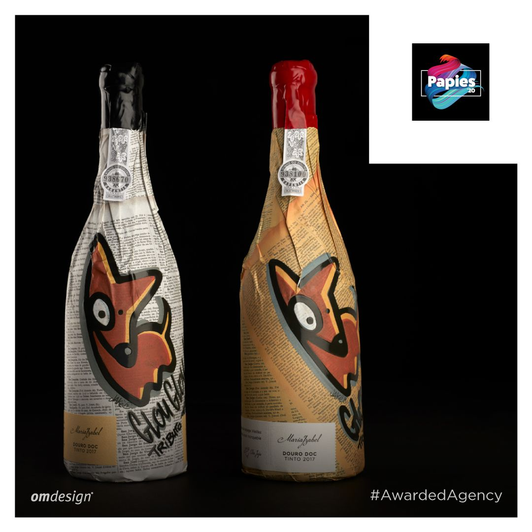 Quinta Maria Izabel Glou Glou #StayOm #Omdesign #Design #Portugal #LeçadaPalmeira #Since1998 #AwardedAgency #DesignAwards #Packaging #WinePackaging #PackagingDesign #QuintaMariaIzabel #GlouGlou #VinhodoDouro #DouroWine #Douro #IVDP #PortugueseWines #WinesofPortugal #WineLovers #WineDesign #Awards #Papies #Papies2020 #GrandePremioPapies