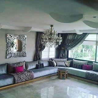 Moroccan luxury livingroom casas con estilo pinterest - Casas marroquies ...