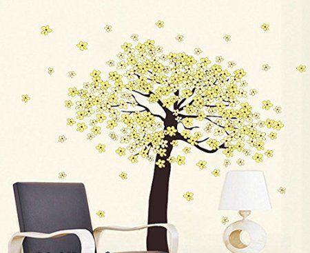 Blossom Violin wall decal mural sticker vinyl wall art