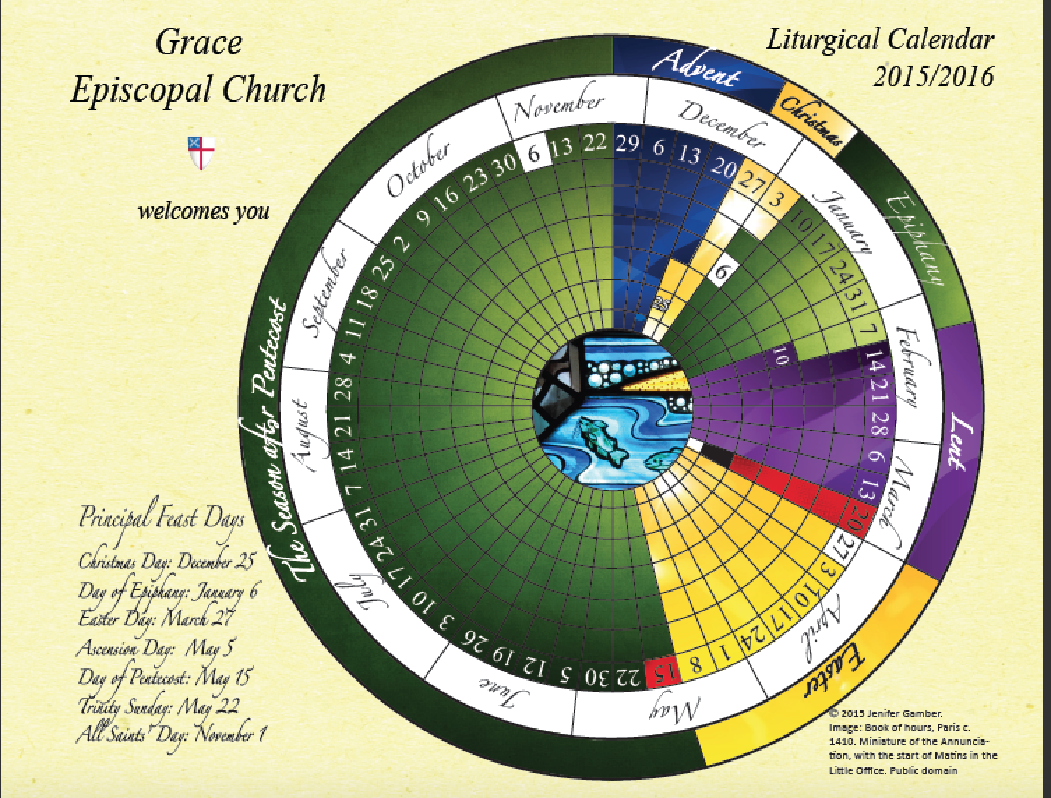 Liturgical Calendars 16