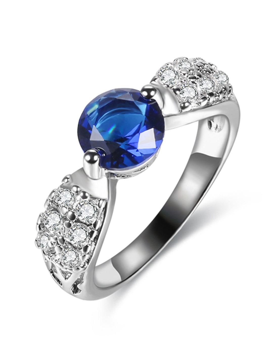 #AdoreWe #VIPme Rings - CHING YING Cute Diamond Platinum Plated Fashion Ring - AdoreWe.com