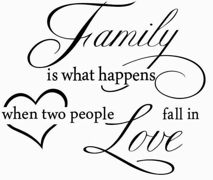 Another family quote Family quotes, People fall in love