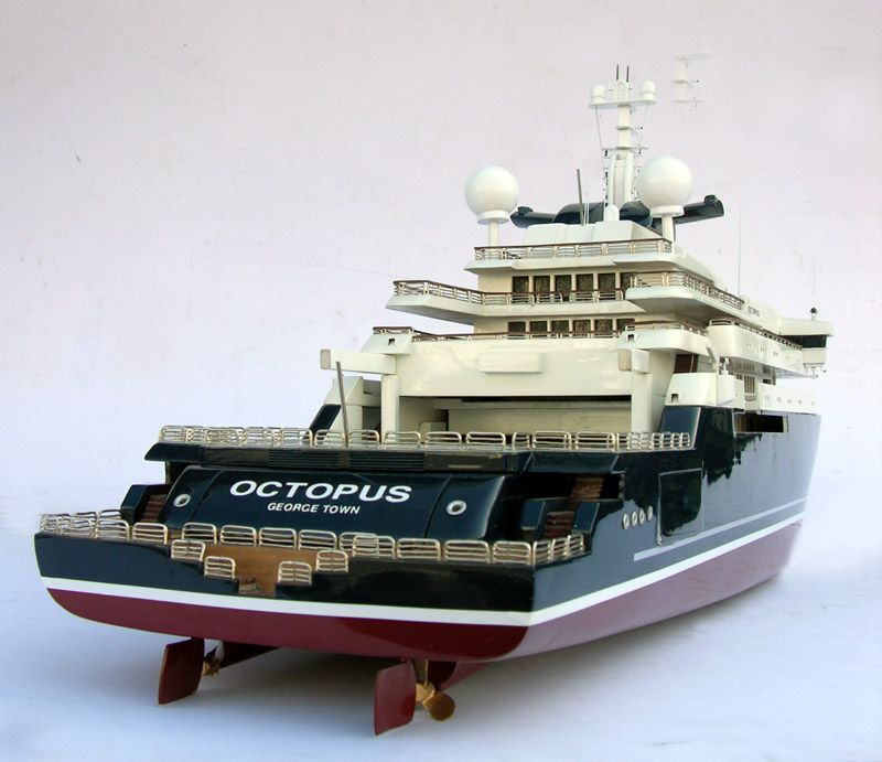 Octopus Owned By Paul Allen Is The Sixth Largest Superyacht Not A Head Of State And Expedition Yacht