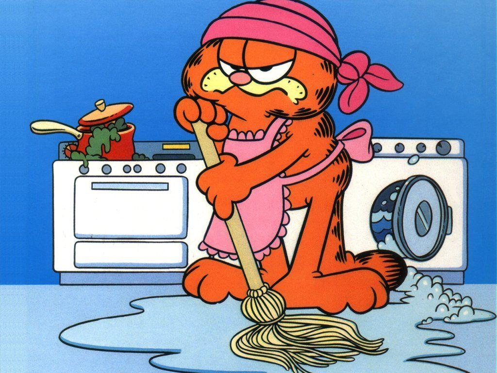 Bom Dia Engracado: Something You Won't Be Seeing Garfield Do! LOL