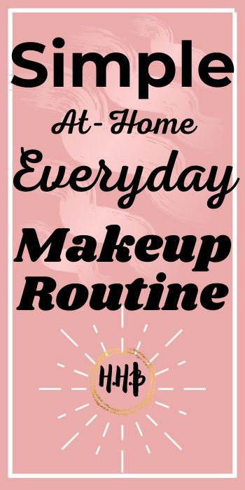 It is important to have a simple and easy at home makeup routine that focuses on you looking your best and getting there on time! #beautyhacks #beautylab #naturalbeauty #naturalbeautyhacks #naturalbeautyproductsdiy
