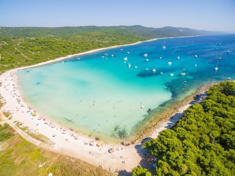 Best beaches in Zadar Tap the link to see the newly