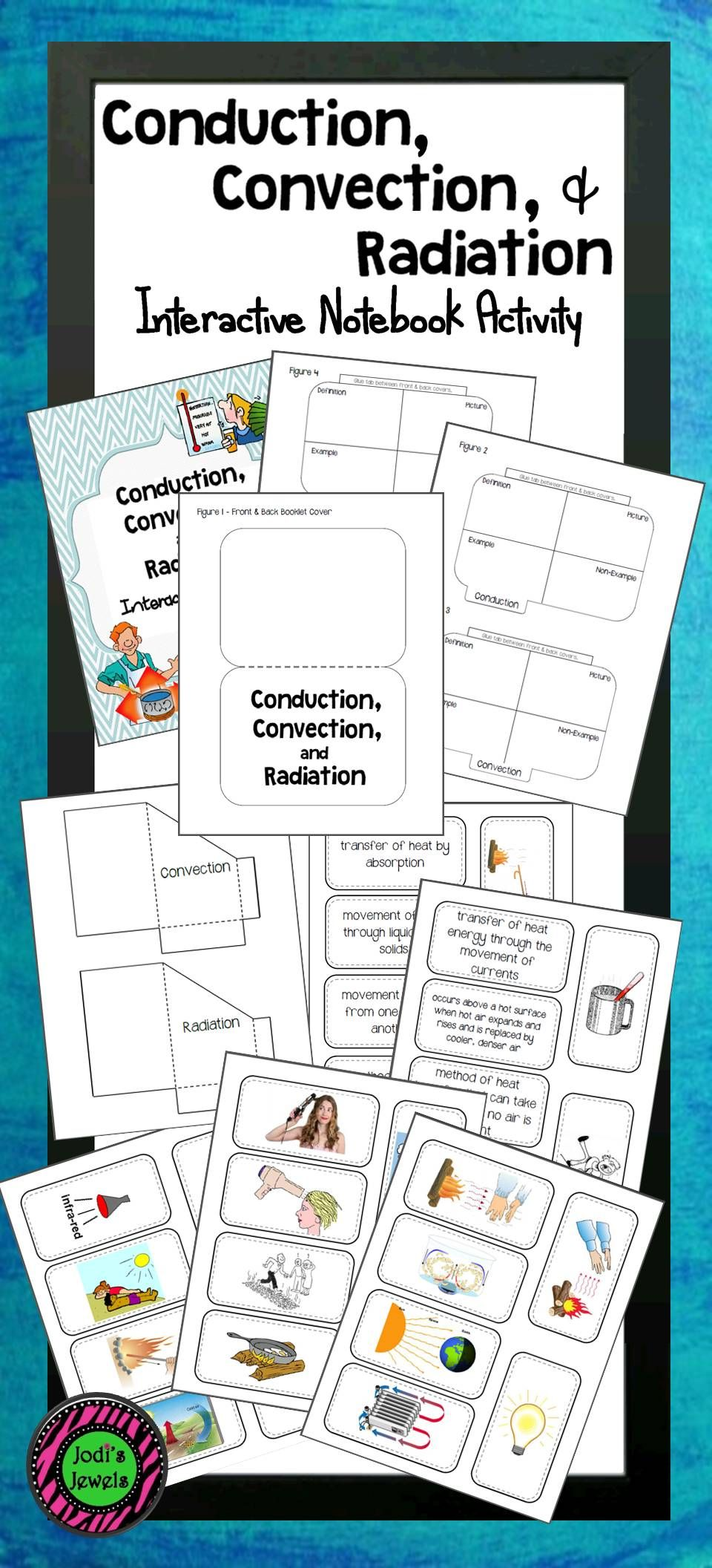 Students Will Complete 2 Interactive Notebook Activities About The Transf Interactive Notebook Activities Interactive Notebooks Conduction Convection Radiation