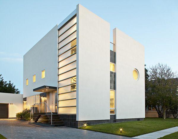 Exterior Design Art art deco style houses - belmont freeman brings art deco style to