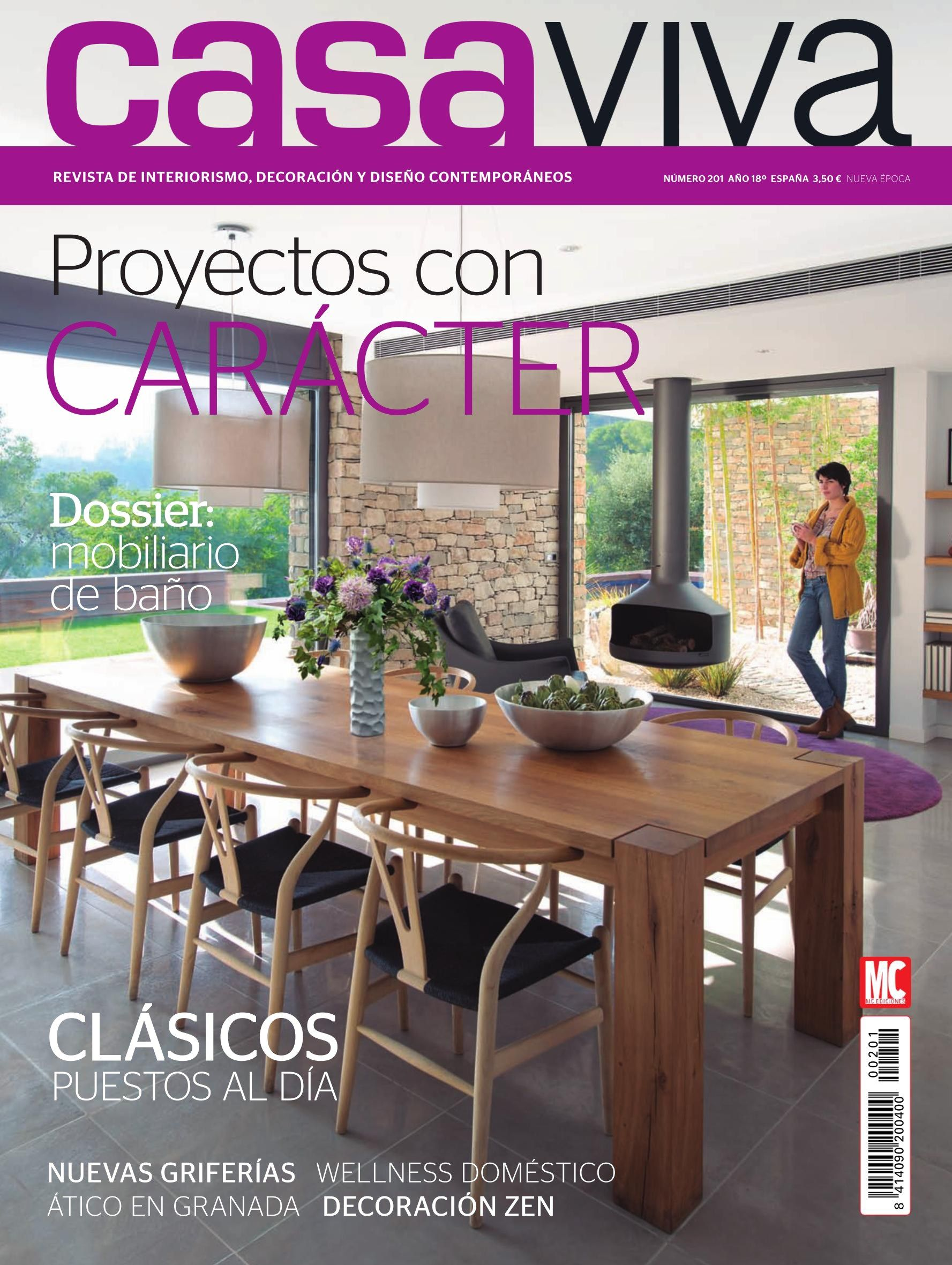 Revista casa viva 18 proyectos con car cter cl sicos for Decoracion casa viva