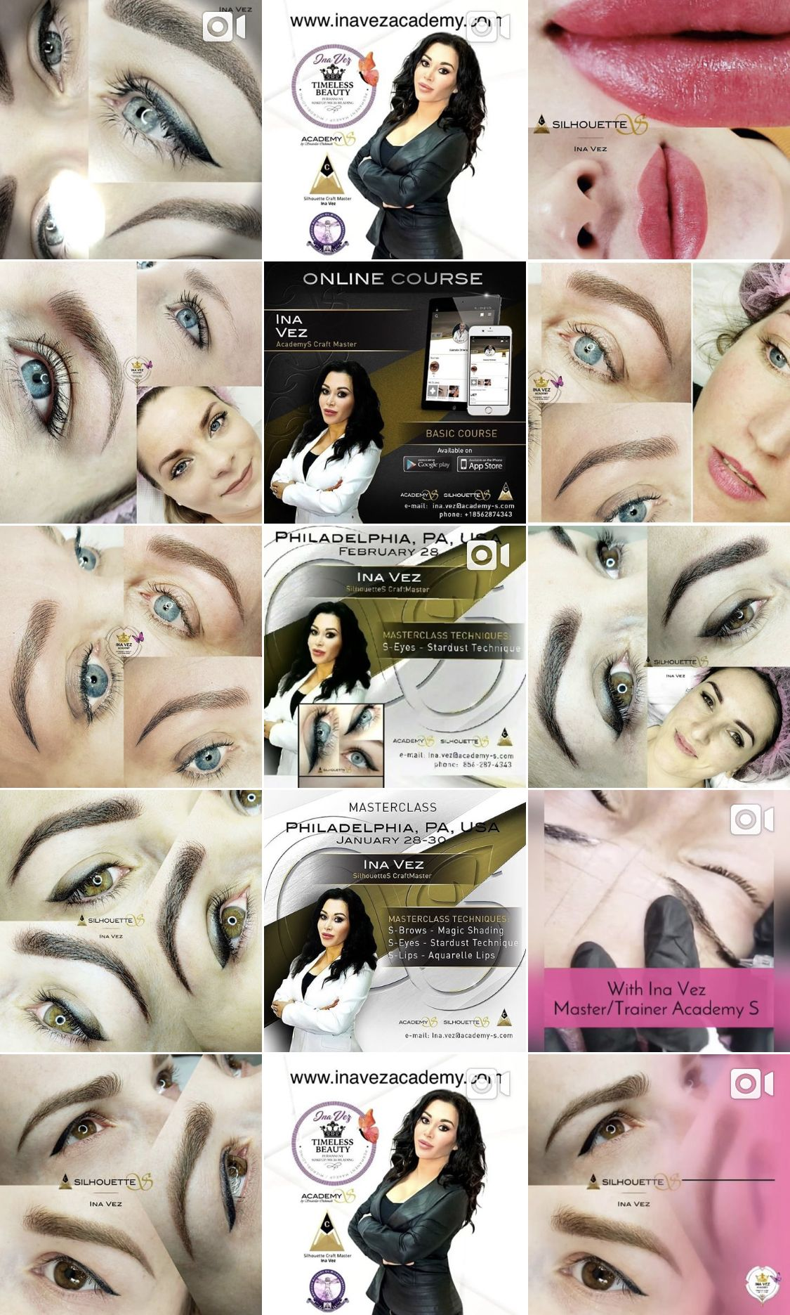 Pin by Ina Vez Academy on My Permanent Makeup Artistry