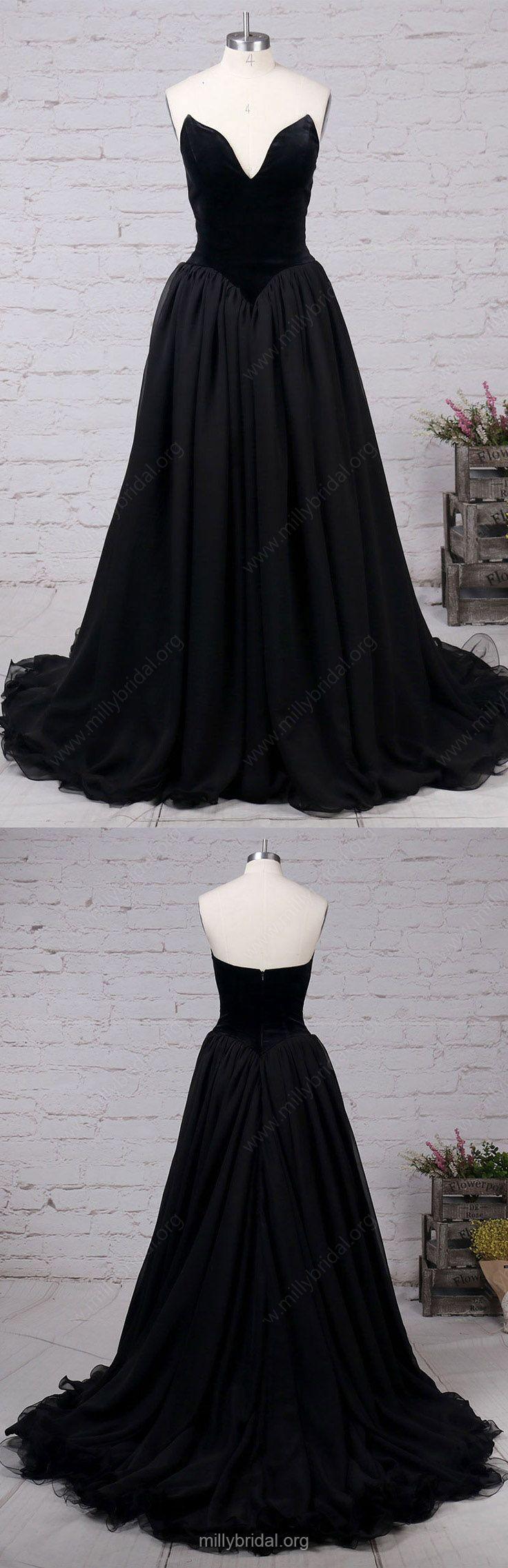 Black prom dressesball gown prom dresses prom dresses for