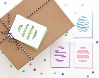 Easter gift tags set of 4 easter eggs easter basket tags easter gift tags set of 4 easter eggs easter basket tags scallop negle Gallery