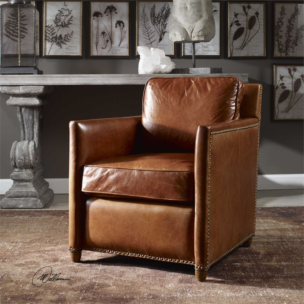 Uttermost   Roosevelt, Club Chair $$808 Wholesale Through Jody.