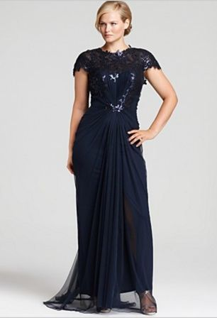 Plus size gowns hiLoUlih | Beautiful! Saw one just like it at http ...