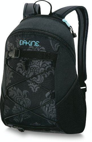 d9be3225dfc Dakine Girls Wonder Back Pack by Dakine. $20.94. Fleece lined sunglass  pocket. Mesh side pockets. Bungee storage. 600D Polyester. Board carry  straps.