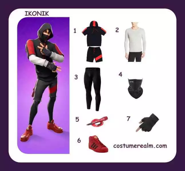Dress Like Ikonik From Fortnite, Diy, Fortnite Halloween