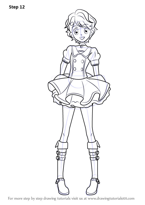 aikatsu anime coloring pages