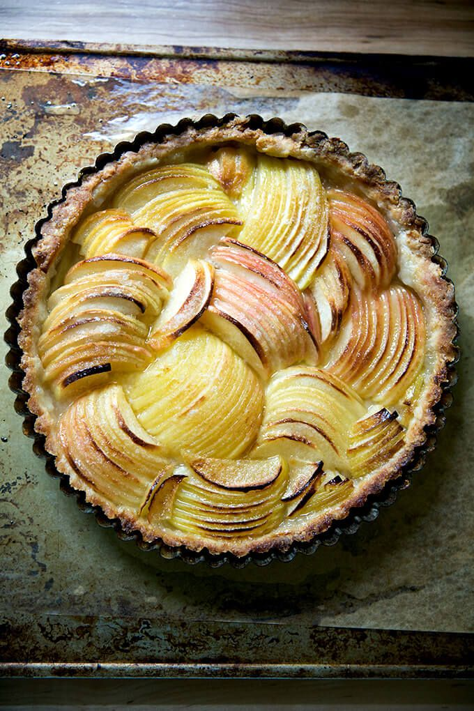 Simple French Apple Tart (Food-Processor Dough) | Alexandra's Kitchen