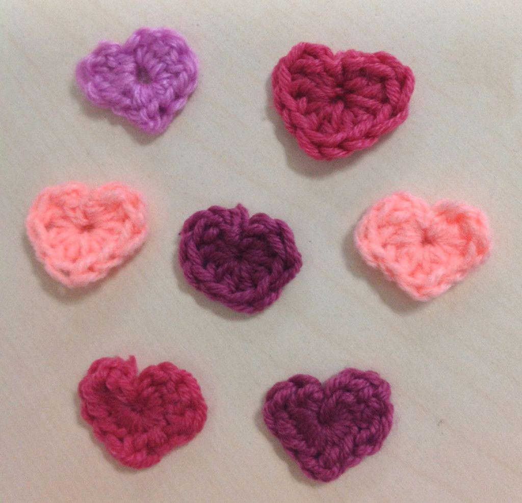 Free Pattern Mini Hearts For Valentine S Day