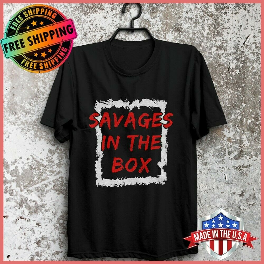 USA New York Savages In The Box Yankees Men/'s S-6XL  US 100/% Cotton