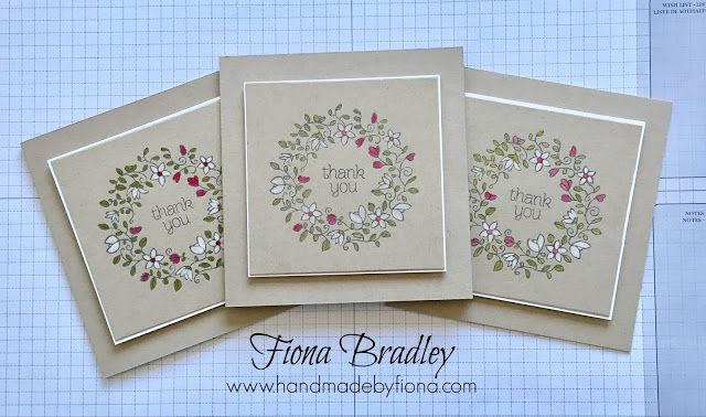 Colouring techniques video tutorial - Stampin' Up - Fiona Bradley
