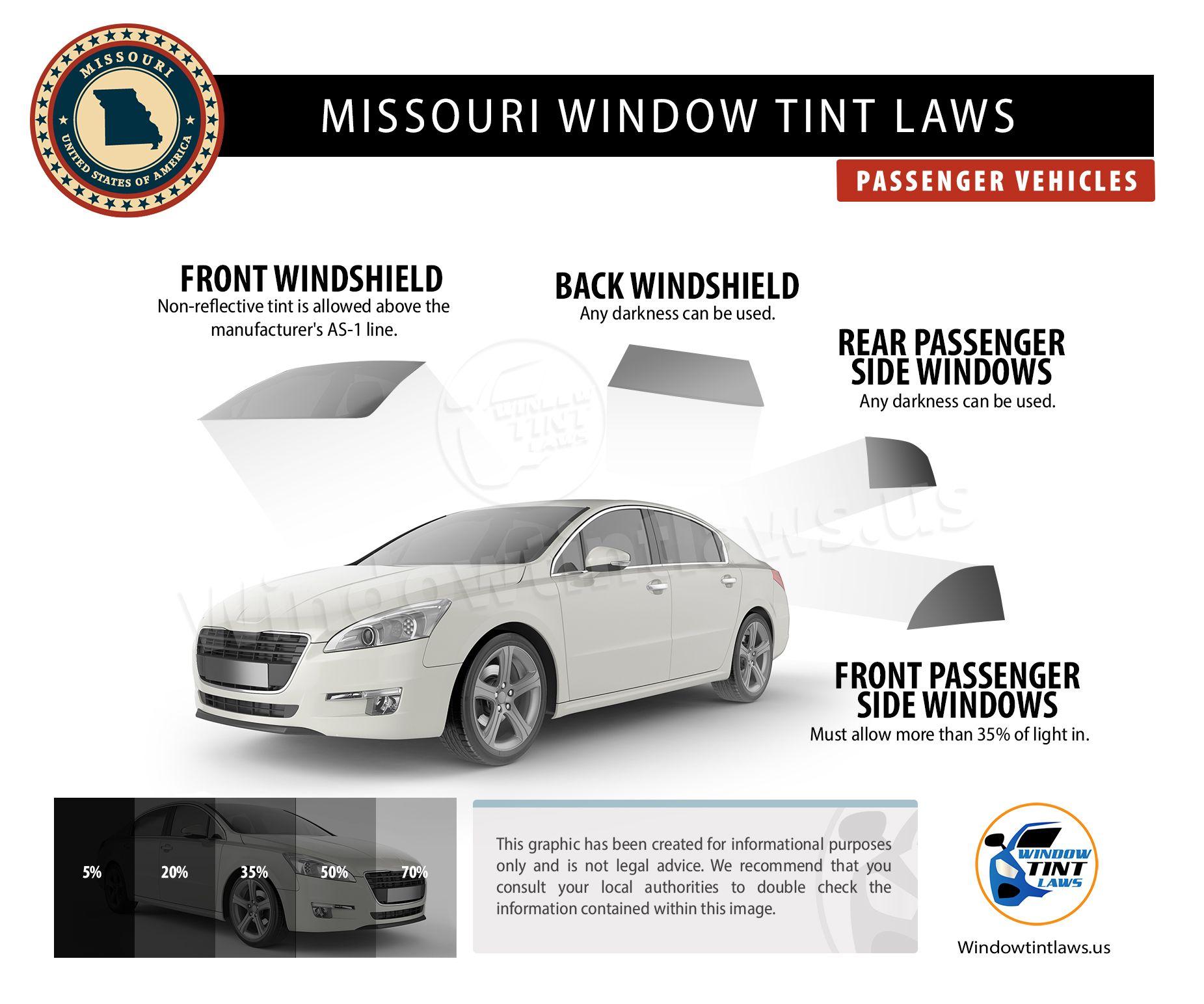 Missouri Window Tint Laws 2020 Explained Windowtintlaws Us In