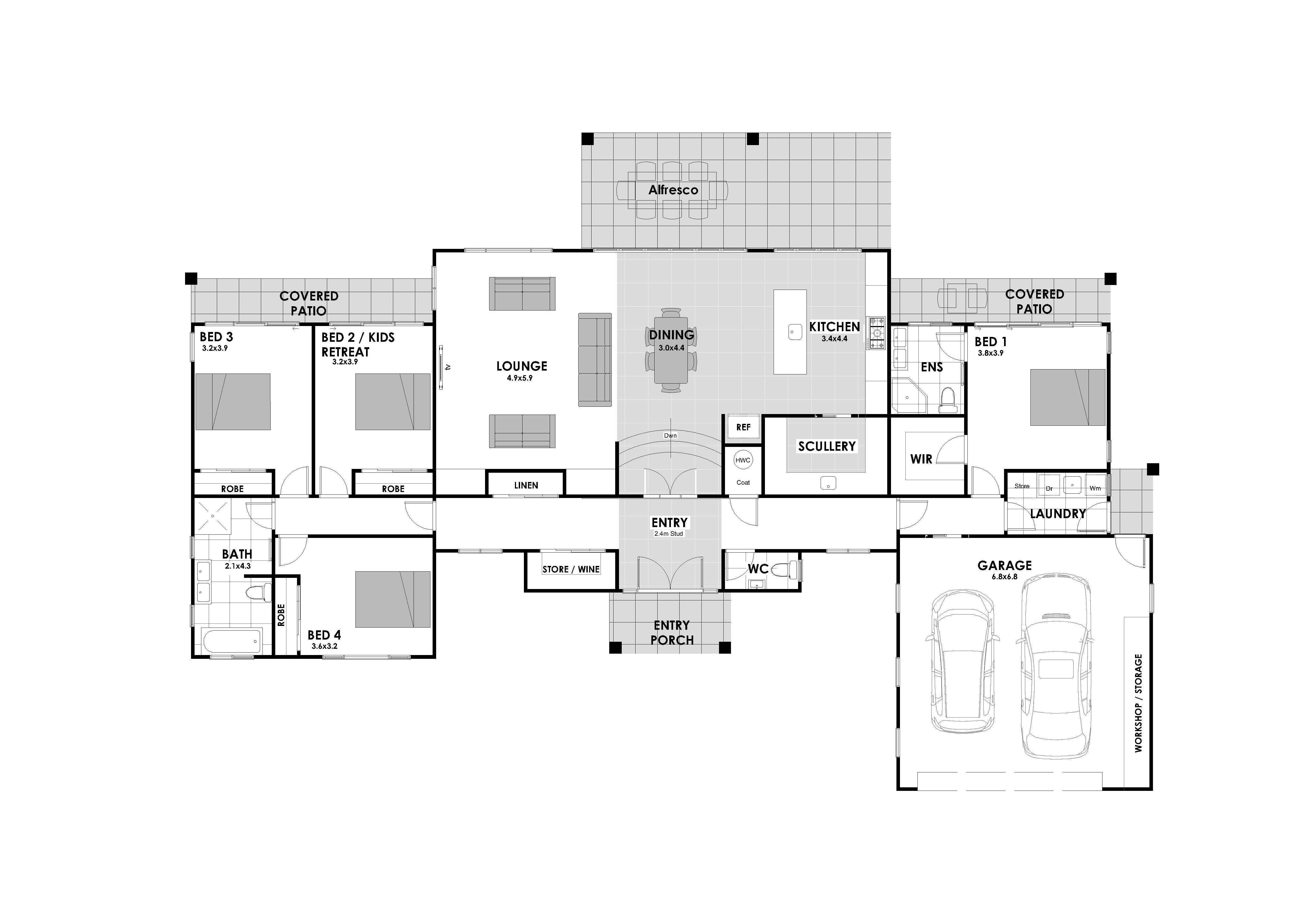 Waiheke 4 Bedroom House Landmark Homes Nz Builders