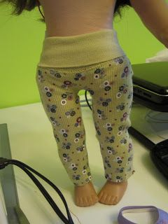 Peachy Tuesday by J Hartman: Tutorial: Making American Girl Doll Yoga Pants #bedfalls62