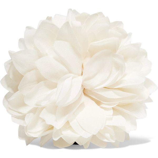 Gucci Floral Silk Brooch - Ivory gWEjM7LtK
