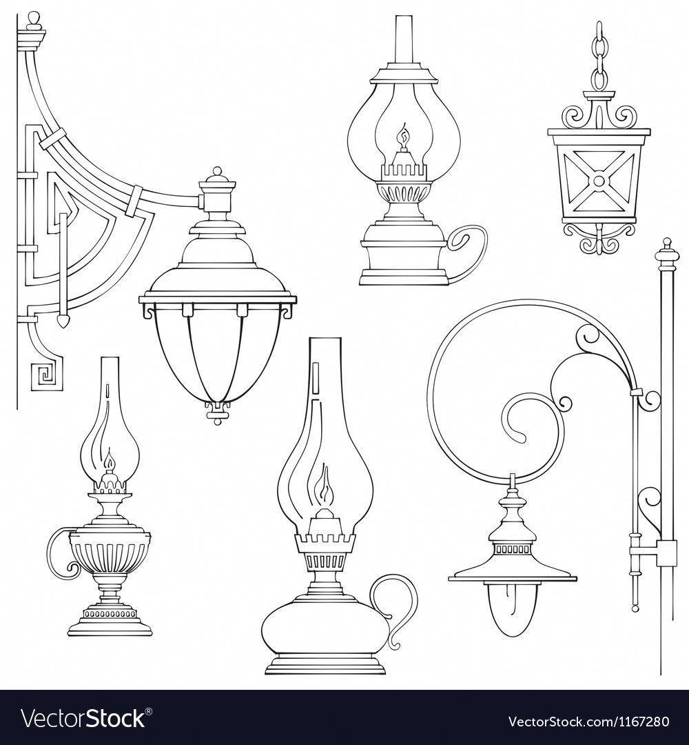 Inspirational Techniques That We Love Rusticfloorlamps Lantern Drawing Kerosene Lamp Lamp Tattoo