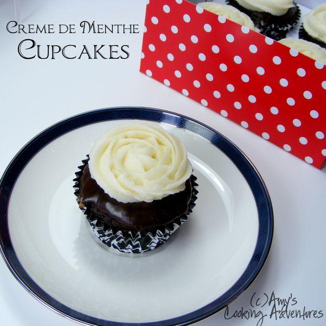 Photo of Crème de Menthe Cupcakes