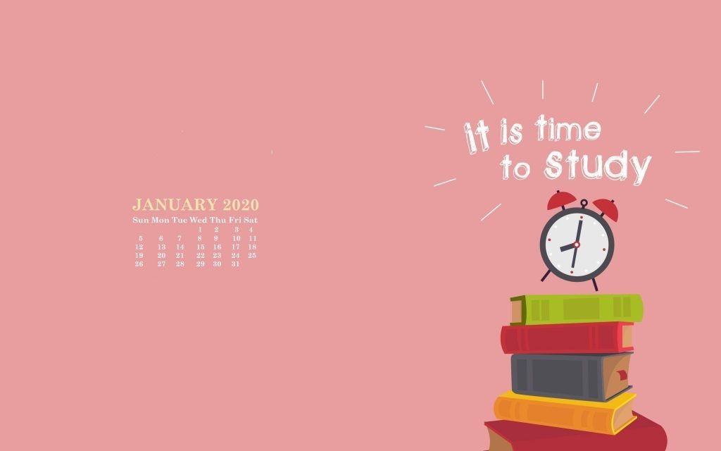 Monthly 2020 Desktop Calendar Wallpaper Desktop Wallpaper Calendar Calendar Wallpaper January Wallpaper