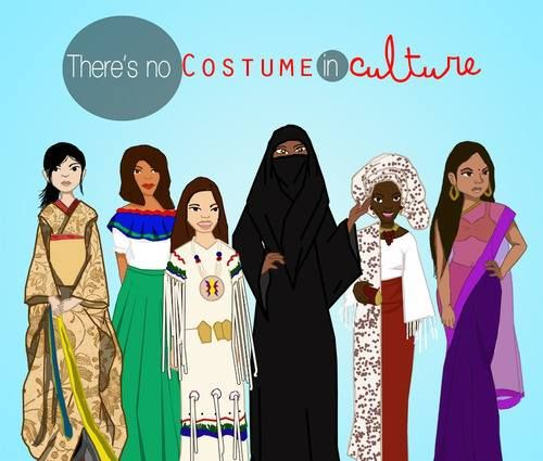 There's No Costume In Culture