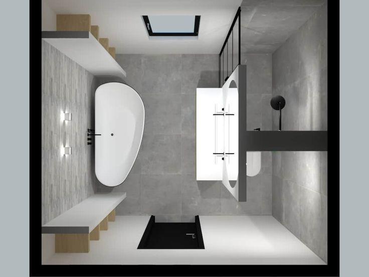 Twee mooie badkamers / De Eerste Kamer badkamers met karakter - #badkamers #de #badkamerinspiratie