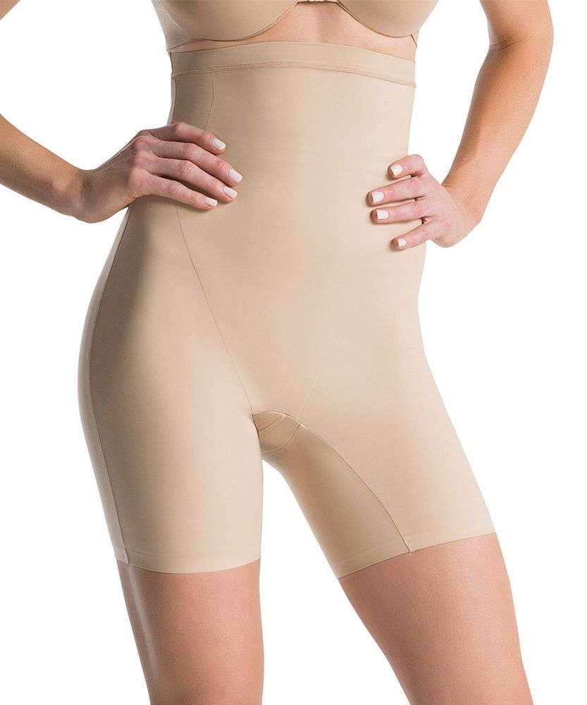 4f6359c3c928c Assets By SPANX Red Hot Label Clever Controllers High Waist Mid Thigh Shaper
