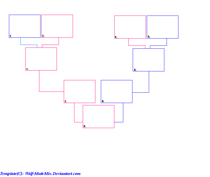 small family tree template