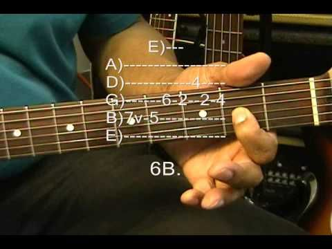 Jefferson Airplane Electric Guitar Solo Lesson SOMEBODY TO LOVE How ...
