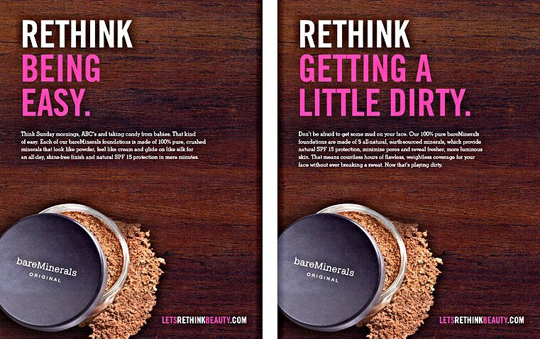 Advertisement Bareminerals By Bare Escentuals Bare Escentuals Pure Products Bare Minerals