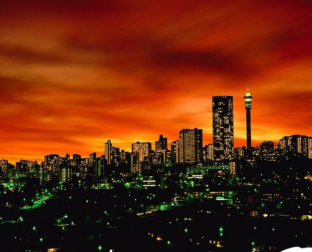 Wow.. I wanna go. #suckerforsunsets Joburg Nights - South Africa by South African Tourism, via Flickr