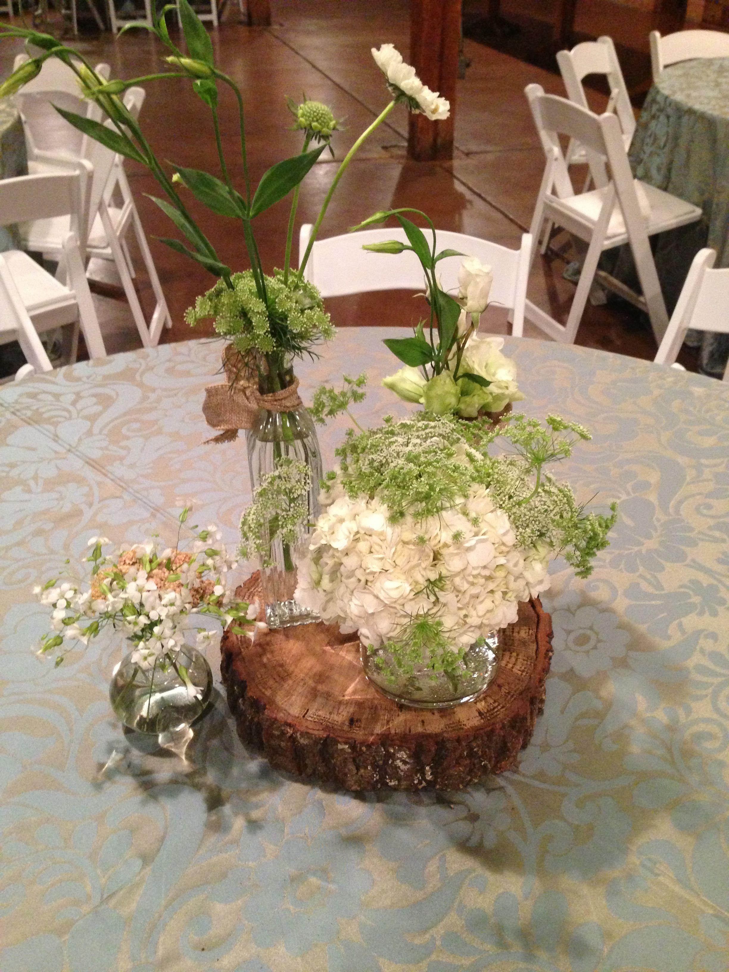 Over the top wedding decorations  Rustic wedding table center piece  Ideas  Pinterest  Wedding