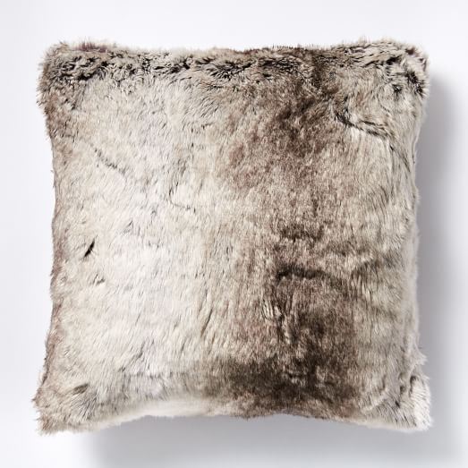 Faux Fur Ombre Pillow Covers | Faux fur