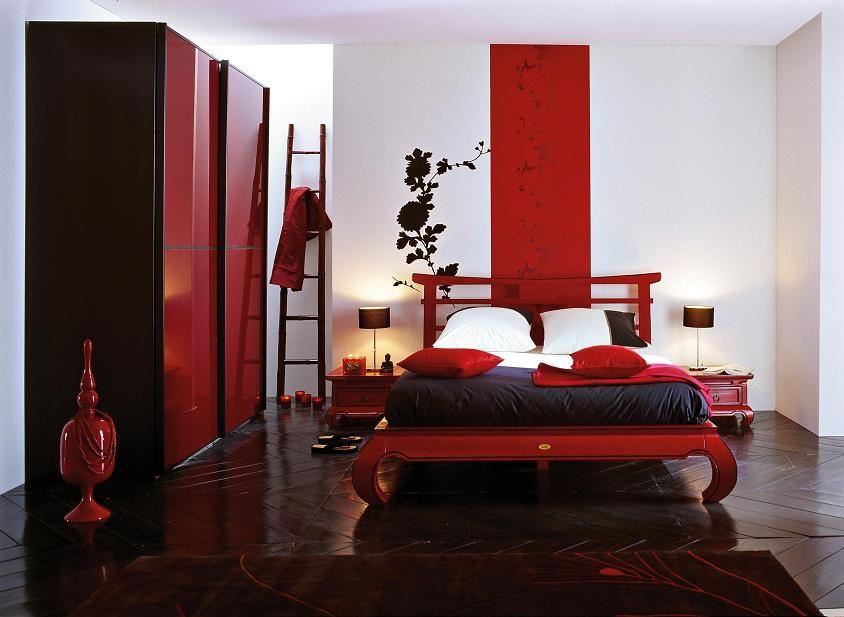 Chambre Japonaise Realiser Une Chambre Japonaise Futon Boule Japonaise Mur Sol Deco Chambre Deco Chambre Rouge Rouge Chambre