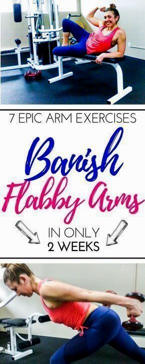 Exercises For Flabby Arms And Bat Wings You Can Do Anywhere